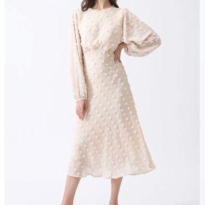 Chicwish XS ivory dress